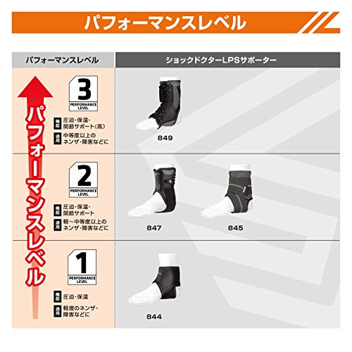 Shock Doctor Ultra Gel Lace Ankle Support (Black, Medium) by Shock Doctor (Image #4)
