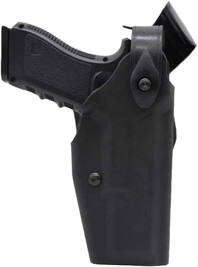 Vioaplem Funda Táctica Glock Caso Pistola De Airsoft Arma De La Mano De Funda For Glock 17 18 19 22 26 31 Fundas con La Bolsa De Seguridad Hebilla De Accesorios De Caza