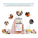 AMA(TM) HD 1080P WIFI Security Camera with Night Version Motion Dection 2 Way Audio Baby Monitor (White)