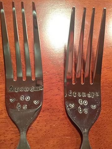 GRANDMA/GRANDPA/Big Brother/ Big Sister/ Aunt /Uncle (or whatever relative you want) TO BE~ The Perfect Gift; Pre-Owned or New Flatware (Whatever You Do Be A Good One)