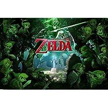 Zelda (Forest) Poster - 36x24