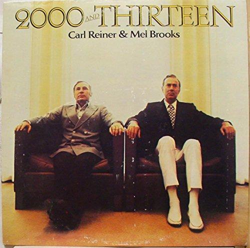Price comparison product image CARL REINER & MEL BROOKS 2000 and thirteen LP Mint- BS 2741 Vinyl 1973 Record