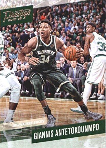 88c3733f2514 Amazon.com  2017-18 Panini Prestige  6 Giannis Antetokounmpo Milwaukee  Bucks Basketball Card  Collectibles   Fine Art