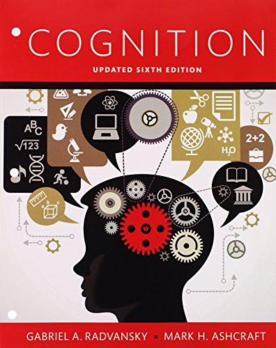 Cognition  Books a la Carte Edition Plus REVEL -- Access Card Package (6th Edition)