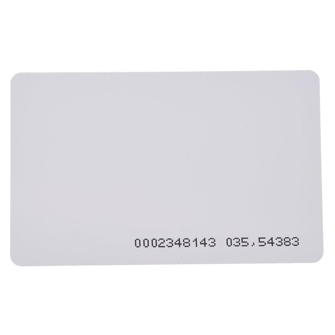 SODIAL(R) 10 x 125 Khz RFID Carte de proximite a l'entree de la porte d'acces