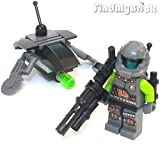 BM045 Lego Army Navy Air Force Custom Hammer Drone & Air Drone (New Lego Sold Loose as Image Show)