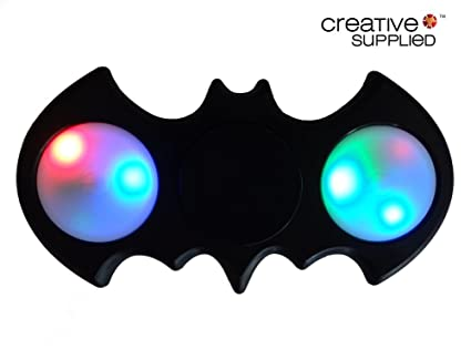 Batman LED Fidget Spinner By Creative Supplied