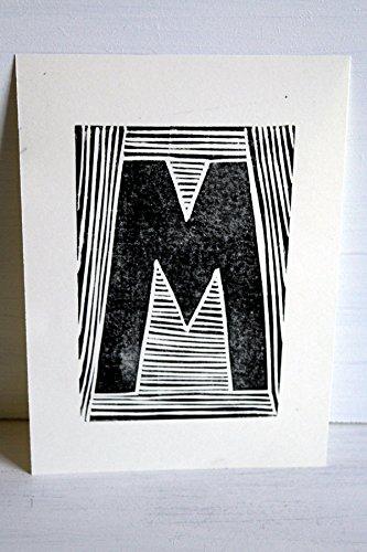 EKone Original Lino Print - M