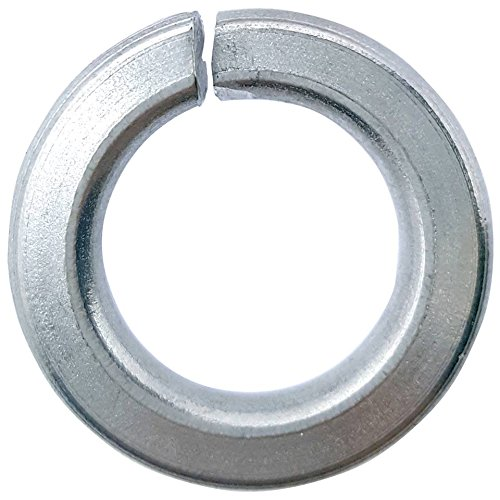 1/2'' Medium Split Lock Washers, Stainless Steel 18-8, Plain Finish, Quantity 50 by Fastenere (Image #4)