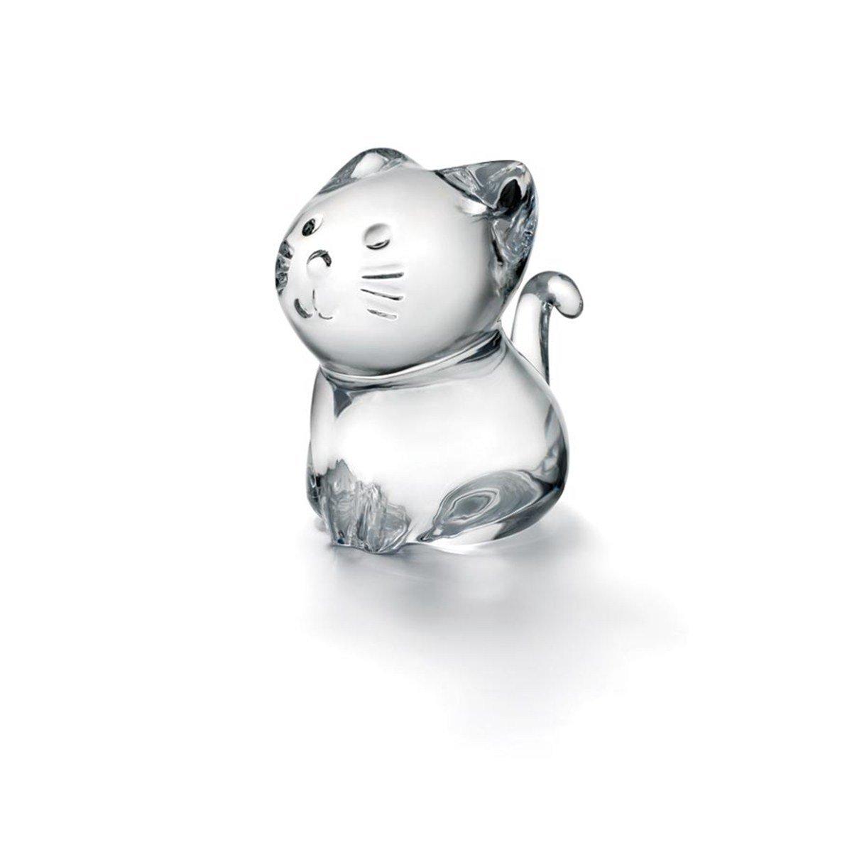 バカラ Baccara クリスタルフギュア ミニマルズ Minimals ネコ 猫 置き物 2610097 【並行輸入品】 2610097 B00EAOJEI6