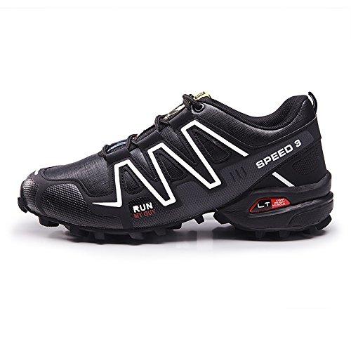 Black Scarpe Stringate shoes White Uomo Shufang xq67zw7F