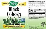 Natures Way Black Cohosh Root 540 mg, 180 VCap