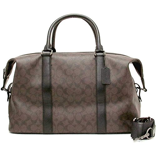 COACH DUFFEL VOYAGER BAG IN SIGNATURE CANVAS F54776