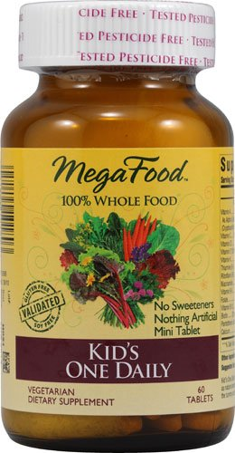 MegaFood Kid's One Daily, 60 Tablets, Health Care Stuffs