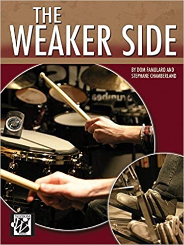 Book The Weaker Side by Dom Famularo (2007-12-01)