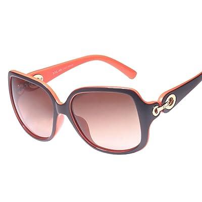 Lunettes de protection Lunettes de soleil polarisées Lady Retro Fashion  lunettes de soleil cadre personnalité UV bd757f5b732b