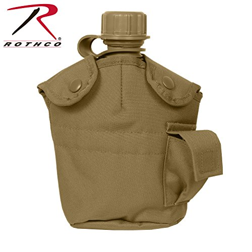Rothco Gi Style Molle Canteen Cover, (Type Canteen Covers)