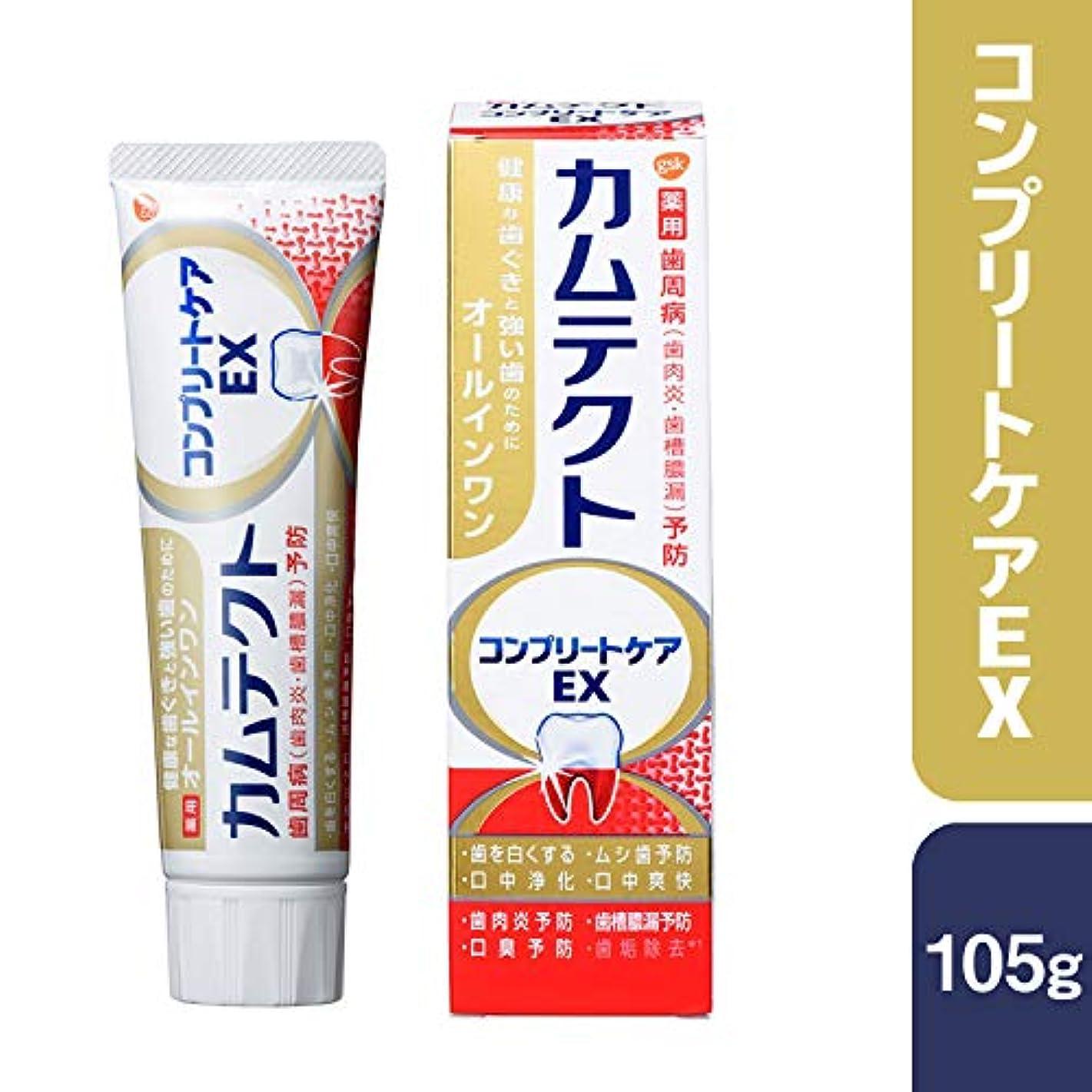 形ソフトウェア認識カムテクト コンプリートケアEX 歯周病(歯肉炎?歯槽膿漏) 予防 歯磨き粉 105g