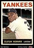 1964 Topps # 100 Elston Howard New York Yankees (Baseball Card) Dean's Cards 3 - VG Yankees