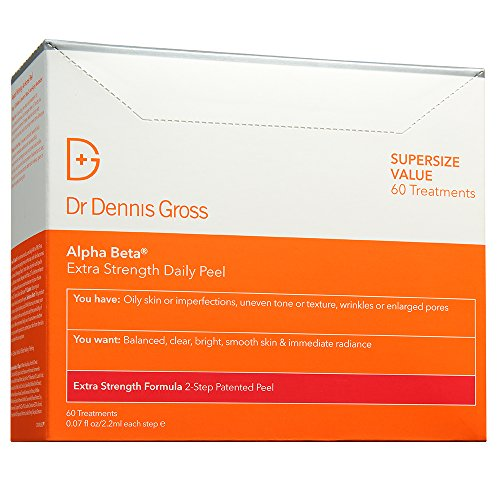 - Dr. Dennis Gross Skincare Alpha Beta Peel, Extra Strength, 60 Count BOX