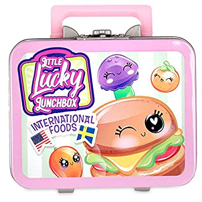 Little Lucky Lunch Box 10510BF2 Little Lucky Lunchbox Surprise - Wave 2 - Styles Vary Collectible, Multicolour: Toys & Games