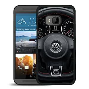 Volkswagen logo 1 Black Fantastic Style Design HTC ONE M9 Case