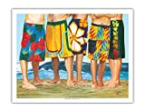 Casual Friday - Surfer Long Board Shorts - Best Reviews Guide