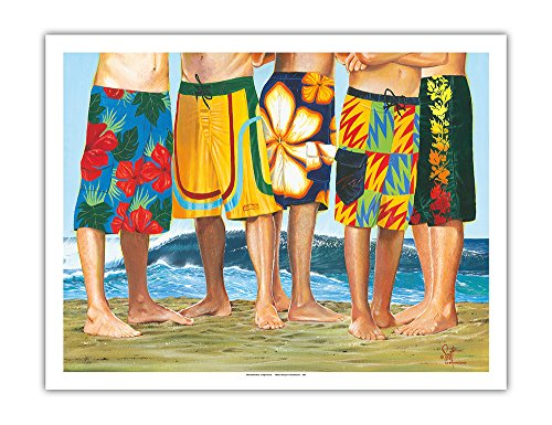 Casual Friday - Surfer Long Board Shorts -