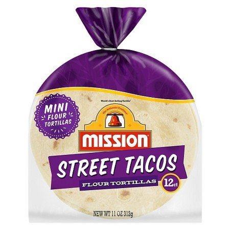 Mission Street Tacos mini Flour Tortillas 11oz
