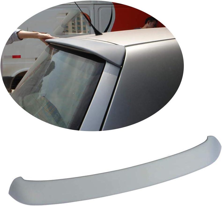 MCARCAR KIT Rear Spoiler fits Volkswagen VW Golf 4 IV MK4 1998-2004 Factory Outlet Unpainted PU Roof Window Wing Lip
