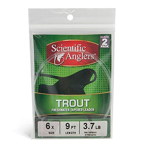 Scientific Anglers Trout Leaders 2 pack 2X