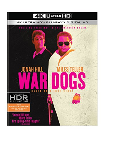 4K Blu-ray : War Dogs (With Blu-Ray, 4K Mastering, Eco Amaray Case, Digitally Mastered in HD, 3 Disc)