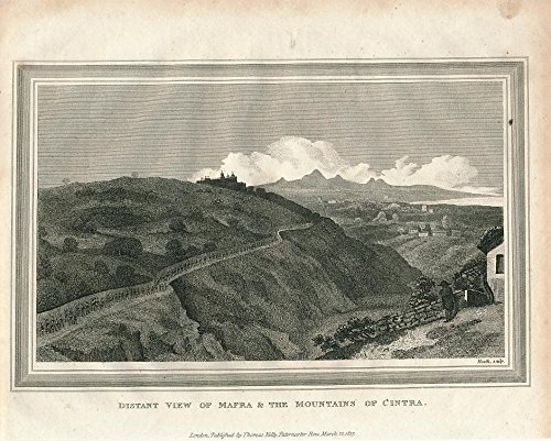 panoramic-view-of-mafra-cintra-mountains-portugal-1817-old-vintage-print