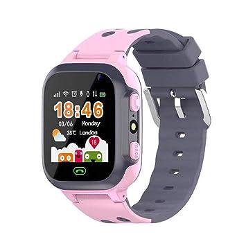 Smartwatch Infantil Smartwatch para Niños con Posición WiFi ...