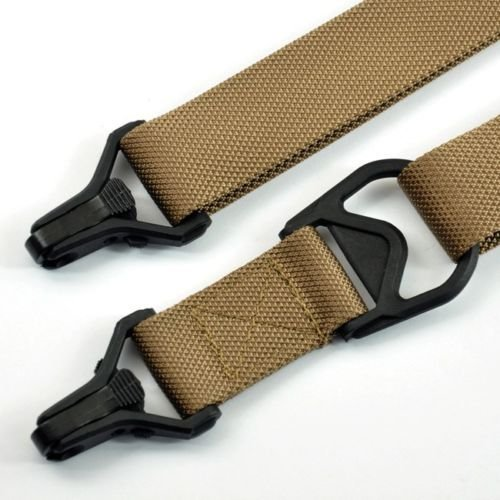 MUDCAT OUTDOORS Tactical Carrying Strap Improved MS3 Design, Quick Action Adjustment For Rifles Systems (Color:Tan)