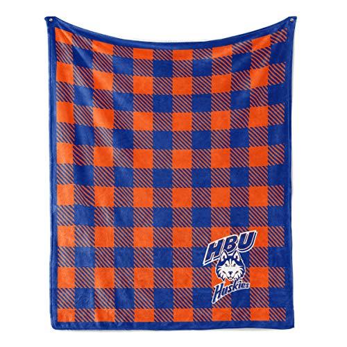 (Official NCAA HBU Huskies - Fleece Blanket -)