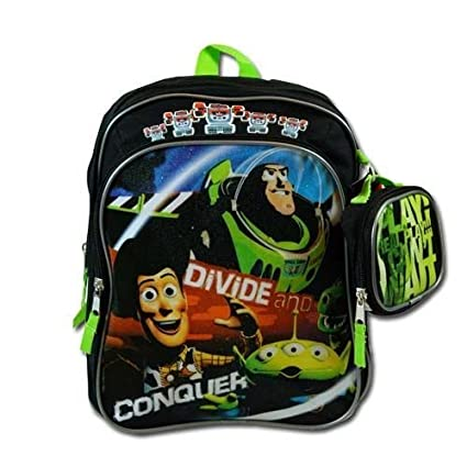 b71e61b2fd9 Amazon.com  Toy Story 3 Toddler 12 Inch Backpack with Bonus Utility Case   Toys   Games