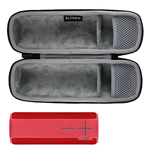 LTGEM Case for Ultimate Ears UE BOOM 2 / UE BOOM 1 Wireless Bluetooth Portable Speaker. Fits USB Cable and Wall Charger