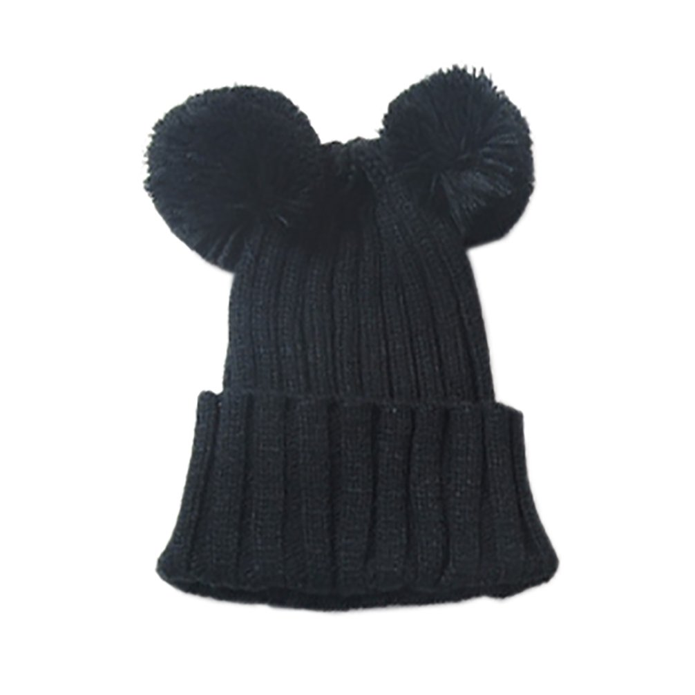 RieKet Children Fall Winter Cute Knitted Warm Hats