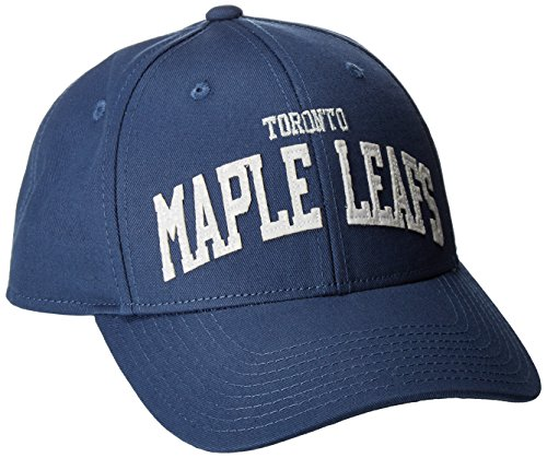 NHL Toronto Maple Leafs Women's SP17 Sequenced Structured Adjustable Cap, Blue, One (Toronto Maple Leafs Snap)