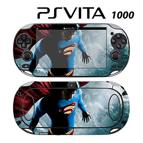 e Skin Decal Cover Sticker for Sony PlayStation PS Vita (PCH-1000) - Superman Returns ()