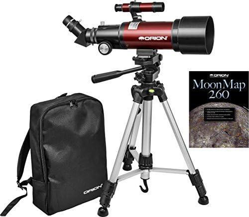 Kit de telescopio refractor de viaje Orion GoScope III