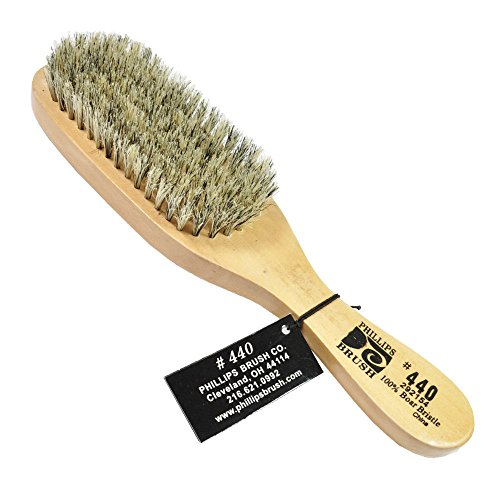 (PHILLIPS #440 The Wave Hair Brush 7-ROW Pure Bristle)