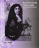 Litterature Francaise, William J. Berg, 0470004517