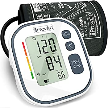 ... Upper Arm BPM-634 - Automatic BP Machine - Top Rated FDA Approved Electronic BP Monitors - Arterial Home BP Cuff Machines - Tensiometro Digital (Gray)