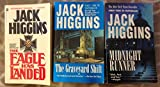 3 Books! 1) The Eagle Has Landed 2) The Grave Yard Shift 3) Midnight Runner