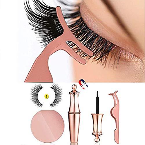 Magnetic Eyeliner Kit 2019 New, Magnetic Eyeliner With Magnetic Eyelashes, Magnetic Lashliner For Use with Magnetic False Lashes