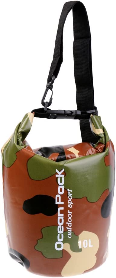fityle Bolsa impermeables 2l-30l Ultralight impermeable compresión Camping Natación Floating Dry Bag, Camouflage verde: Amazon.es: Deportes y aire libre