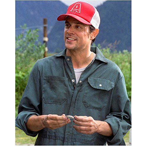 Johnny Knoxville 8 inch by 10 inch PHOTOGRAPH Jackass 3D Jackass: The Movie Jackass Number Two from Waist Up Red/White Cap ()