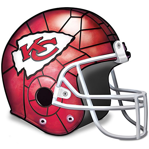 Kansas City Chiefs Helmet Tabletop Accent Lamp by The Bradford Exchange